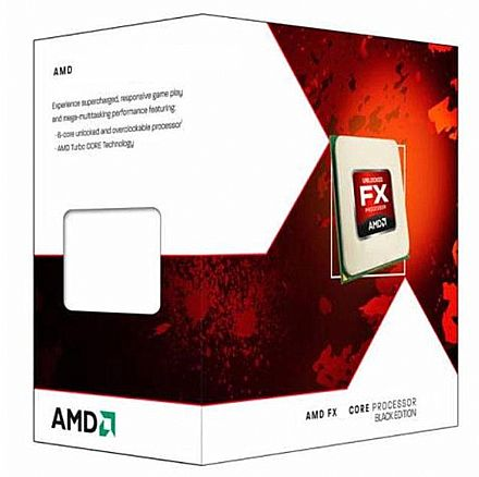 AMD FX-6300 Hexa Core - 3.5GHz (Turbo 4.1GHz) cache 14MB - AM3+ TDP 95W