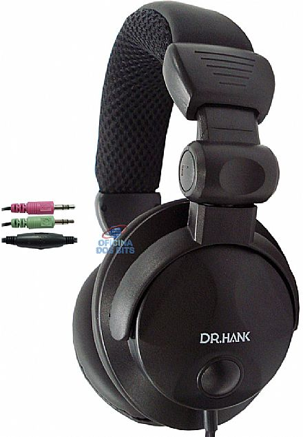 Fone de Ouvido com Microfone Dr. Hank Bass Super - EPH327VMPB