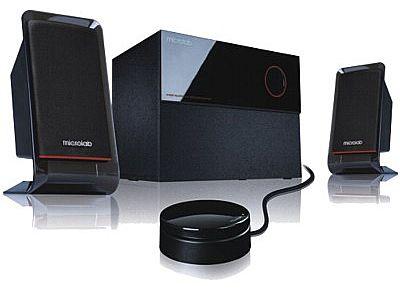 Caixa de Som 2.1 Microlab M200 - 40W RMS