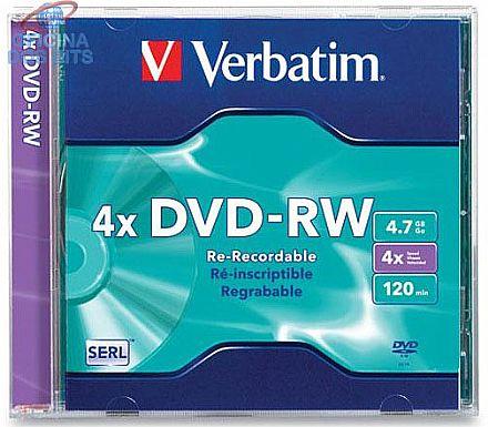 DVD-RW 4.7GB 4x - Regravável - oem - unidade