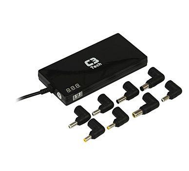 Fonte Universal para Notebook 90W C3 Tech NB-90T- 12V e 24V - Pontas Intercambiáveis