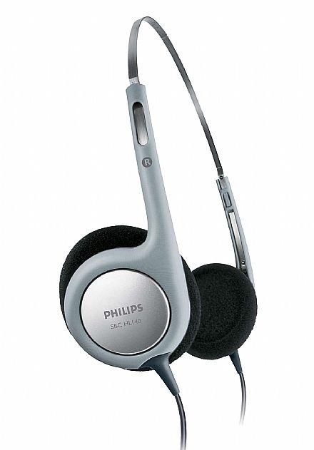 Fone de Ouvido Philips SBCHL140/10 - Ultra leve