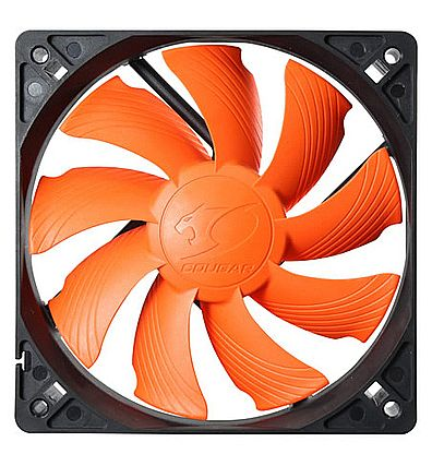 Cooler 120x120mm Cougar Turbine - Laranja - CF-T12S