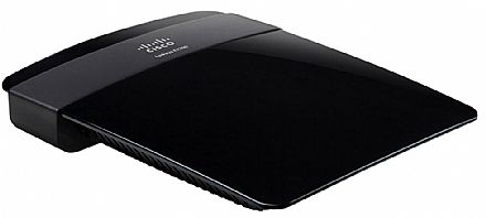 Roteador Wi-Fi Cisco E1200 - 300Mbps - Wireless N - 2.4 GHz - permite VPN Tunneling