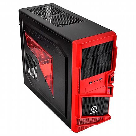 Gabinete Thermaltake MS-I Epic Edition - USB 3.0 - com LED Azul - VN400A1W2N-B