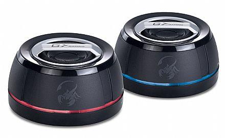 Caixa de Som Portátil Genius SP-I250G - Bateria Recarregável - 6W RMS - 31731013100