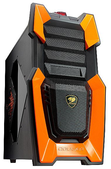 Gabinete Cougar Challenger - Laranja - The Ultimate Gaming Case - Sem Fonte - 6HM6 Orange