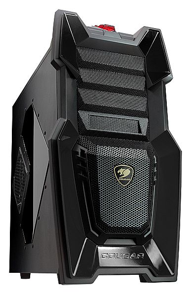 Gabinete Cougar Challenger - Preto - The Ultimate Gaming Case - Sem Fonte - 6HM6 Black
