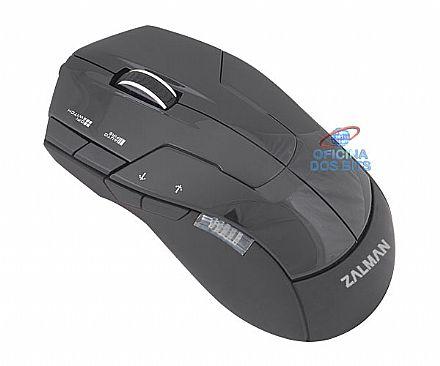 Mouse Gamer Zalman ZM-M300 - 2500dpi - 7 botões