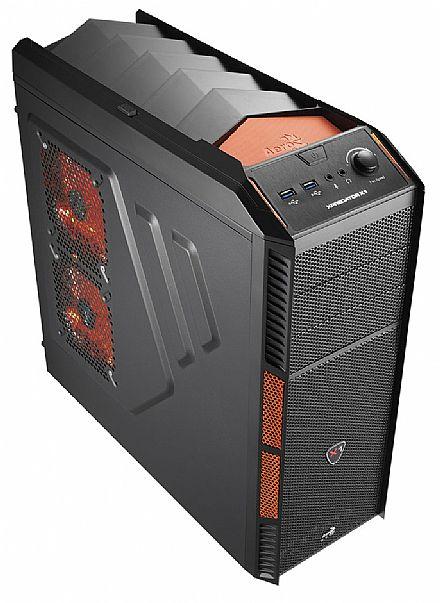Gabinete AeroCool XPredator X1 Evil Black - Performance Gaming System - EN57073