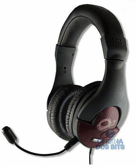 Headset Ozone Onda ST - com microfone ajustável - OZONDAST