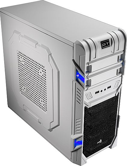 Gabinete AeroCool GT White Edition - USB e Audio Frontal - EN52223