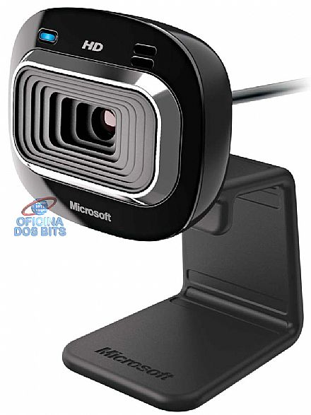 Web Câmera Microsoft LifeCam HD-3000 - Video HD - com Microfone - USB - T3H-00011