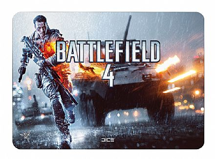 Mouse Pad Razer Destructor 2 - Battlefield 4 Edition 25,5 x 35,5cm - RZ02-00200500R3U1