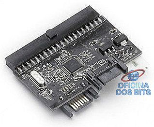 Conversor Interno IDE para SATA / SATA para IDE - AD0010