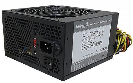 Fonte 500W WiseCase - WS-500W-1X12