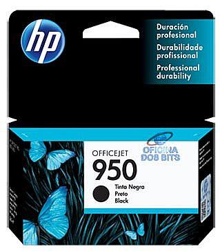 Cartucho HP 950 Preto - CN049AL - Para HP 251DW, 276DW, N811, 8600, 8600Plus, 8610, 8620
