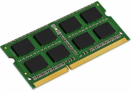 Memória SODIMM 4GB DDR3 1333MHz Bluecase - para Notebook - CL9 - 1.35V - BMGSO3D13M135VS9/4G