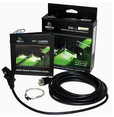 Kit HDMI/DVI Upgrade XFX - MK-HDMIUP1K