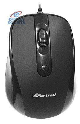 Mouse Fortrek OM-103 - USB - 1600dpi - cabo 1,5 metros