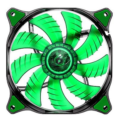 Cooler 120x120mm Cougar Fan - Led Verde - CF-D12HB-G