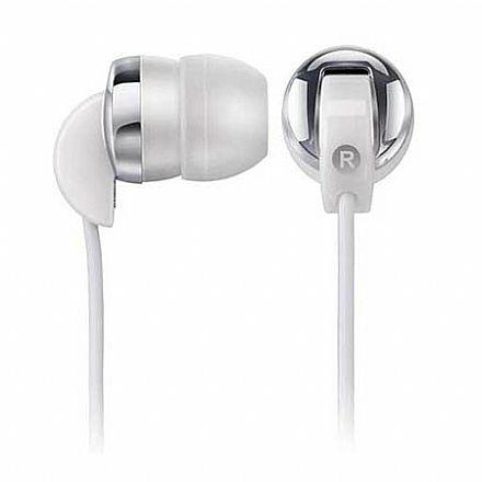 Fone de Ouvido Multilaser Sport Phone PH017 - Intra-auricular - Branco