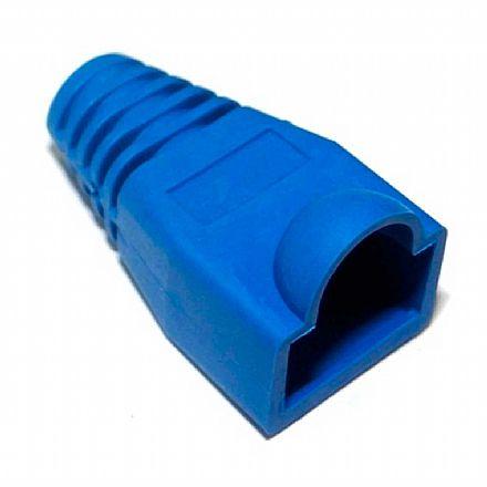Capa para Conector RJ45 - Azul - CY-7020-BL