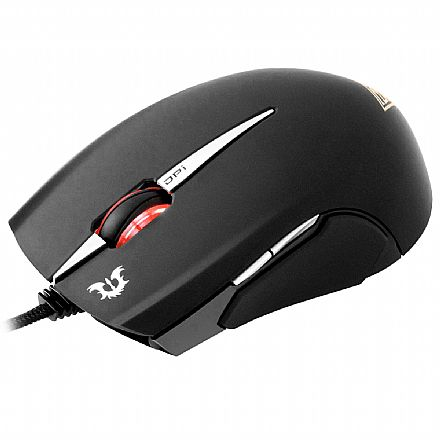 Mouse Gamer Gamdias Erebos - 3500dpi - 8 botões - Optico - USB - GMS7500