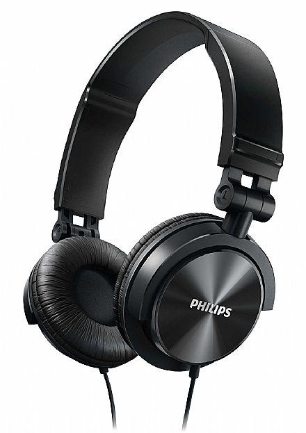 Fone de Ouvido Philips SHL3050BK/00 - Dobrável