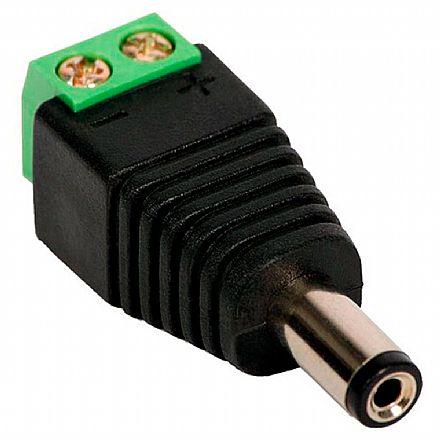 Plug P4 Macho com Borne