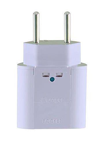 Protetor Contra Raios Clamper Iclamper Pocket 2P - DPS - Branco - 10192