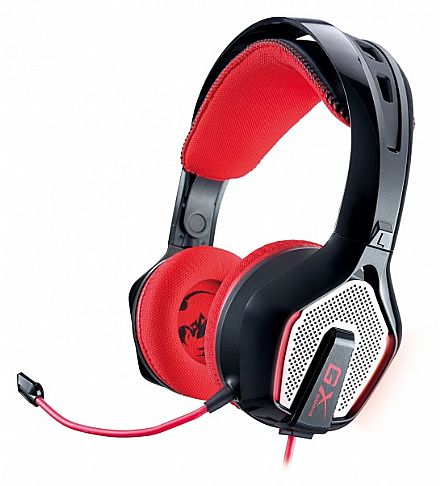 Headset Genius Gaming GX Zabius HS-G850 - para PC, MAC, Xbox 360, PS3 - Conector USB + Adapatadores - 31710057101 - Seminovo - Sem microfone