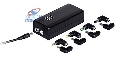 Fonte Universal para Notebook 90W C3 Tech NB-C390 - Pontas Intercambiáveis