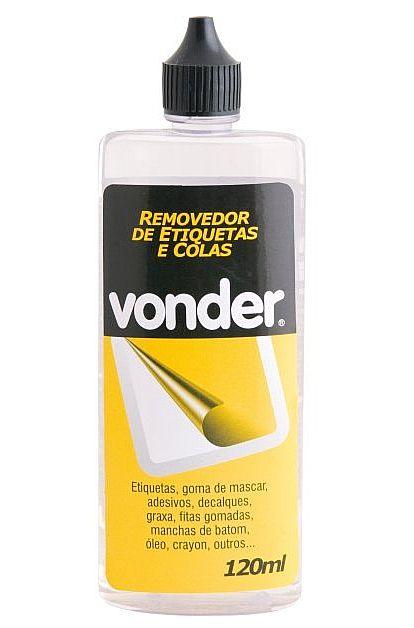 Removedor de Etiquetas e Colas 120ml Vonder - 80.99.130.001