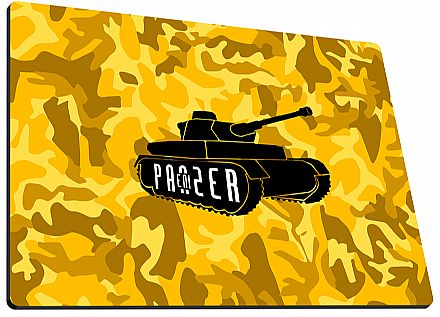 Mouse Pad Enipanzer Warpad-x Gold - Grande - 40 x 45 x 0,3cm