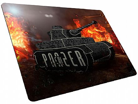 Mouse Pad Enipanzer Warpad88 Tank - Grande - 40 x 45 x 0,3cm