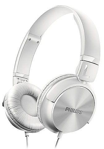 Fone de Ouvido Philips SHL3060WT/00 - Branco - Dobrável - com Graves Nítidos