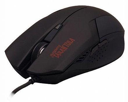 Mouse Gamer Fortrek Tarantula - 2000dpi - USB - 6 botões - OM-702