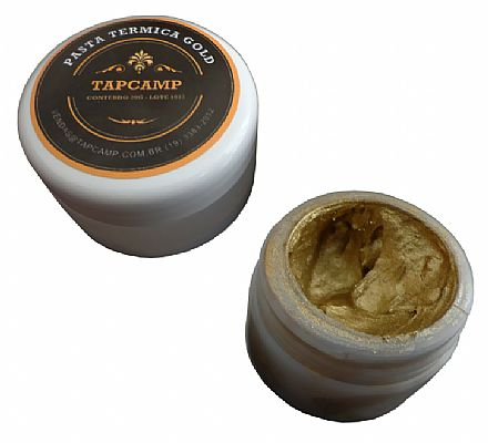 Pasta Térmica Tapcamp - Gold - Pote 20g