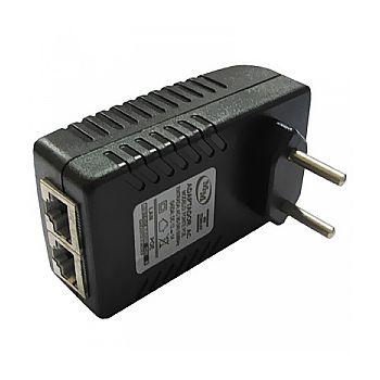 Fonte PoE Injetor - 12V 1A - Energia e Dados através do cabo de Ethernet