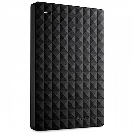 HD Externo Portátil 2TB Seagate Expansion - USB 3.0 - STEA2000400