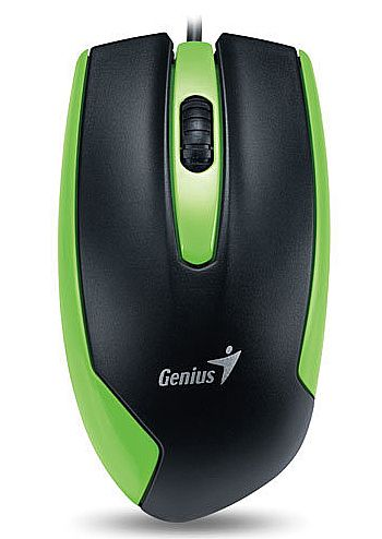 Mouse Genius DX-100 - USB - 1200dpi - Verde - 31010009106