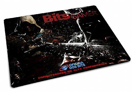 Mouse Pad Bits - 220 x 175 x 2mm - Bits GAMER