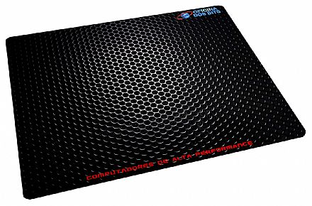 Mouse Pad Bits - 220 x 175 x 2mm - Textura Metálica