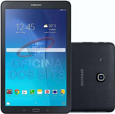 """Tablet Samsung Galaxy Tab E T560N - Tela 9.6"""", Android, Wi-Fi, 8GB, Quad Core - SM-T560N - Preto"""