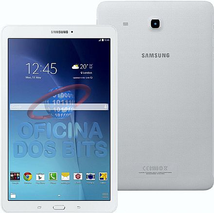 "Tablet Samsung Galaxy Tab E T560N - Tela 9.6"", Android, Wi-Fi, 8GB, Quad Core - SM-T560N - Branco"