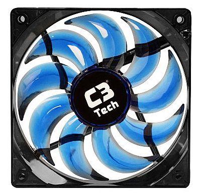 Cooler 120x120mm C3 Tech Storm - com LED Azul - F9-L100BL