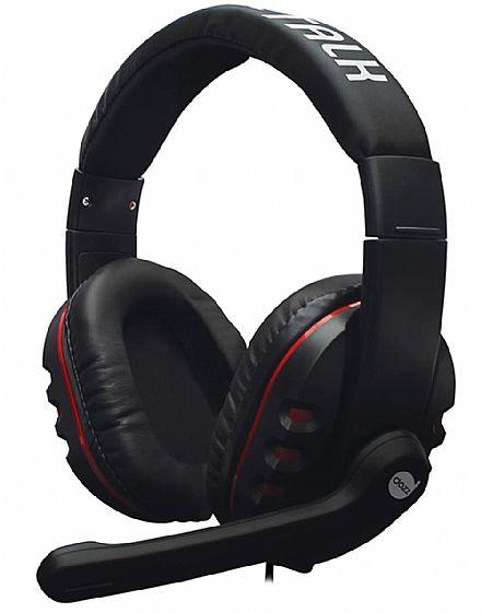 Headset Gamer Dazz X-Talk - com Controle de Volume e Microfone - 621538