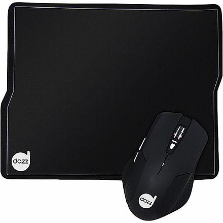 Kit Gamer Mouse Dazz Tiglon e Mouse Pad - 3200dpi - 621686
