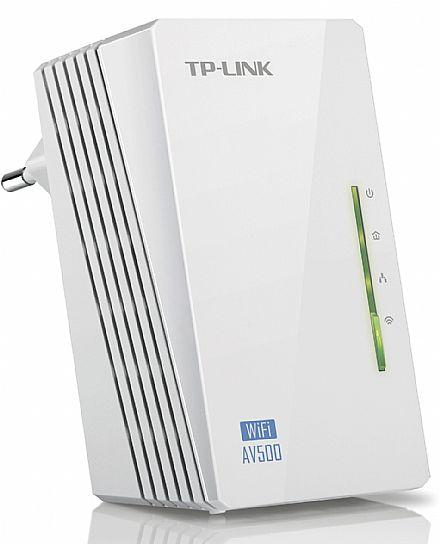 Extensor de Alcance Wi-Fi PowerLine TP-Link TL-WPA4220 - 300Mbps - Transforme sua Rede Elétrica em uma Rede de Internet